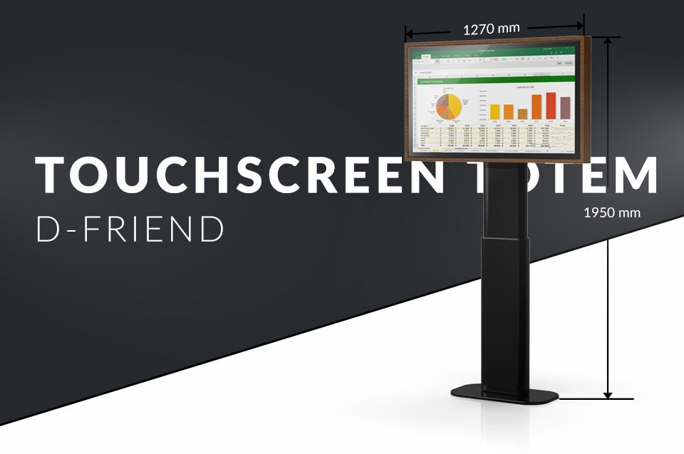 Touch screen Totem