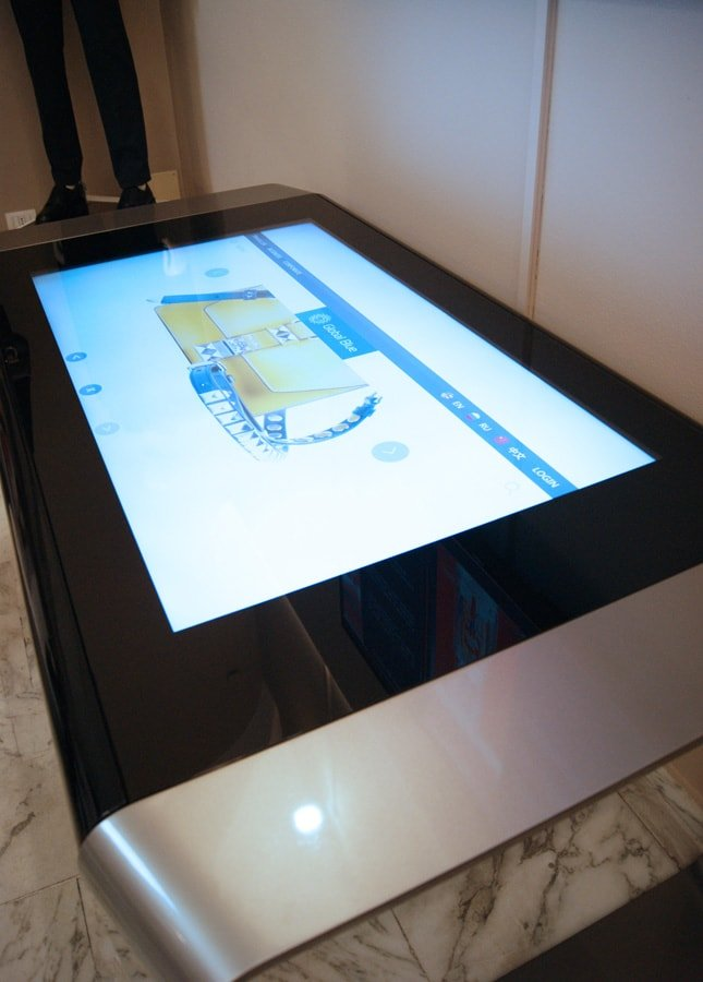 Global Blue D-Table Touch