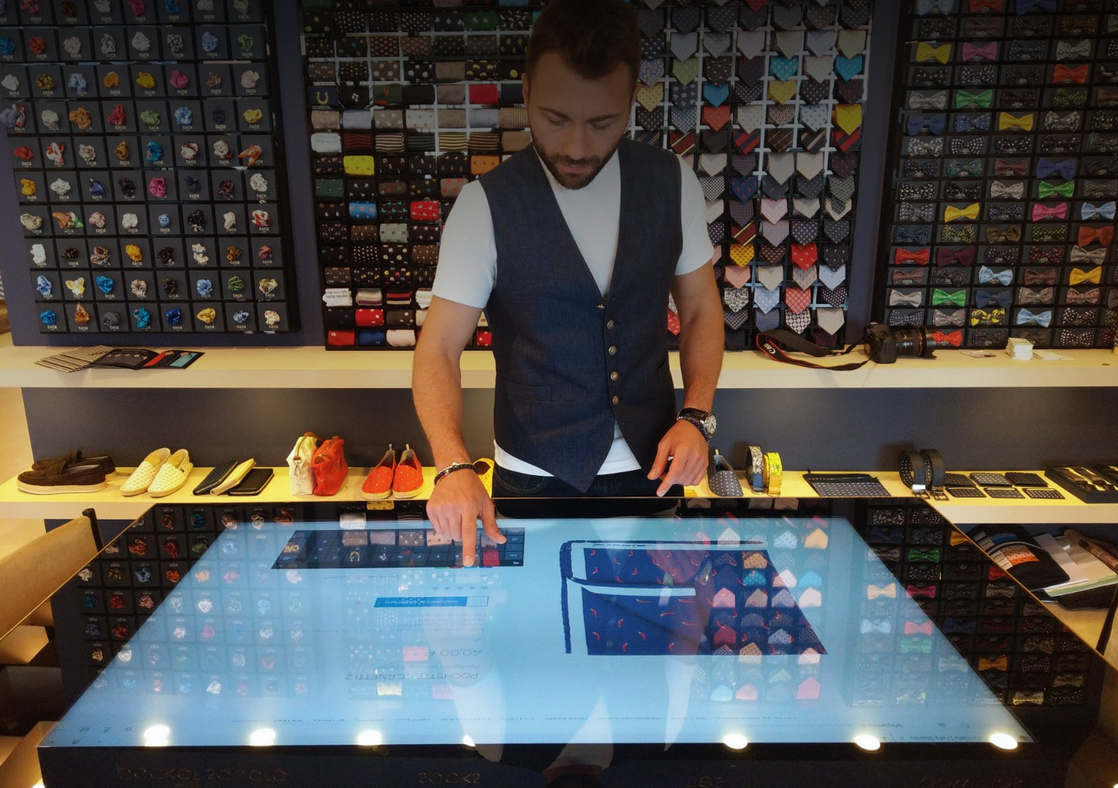 D-Table touch table