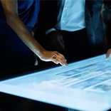 Video D-Table Multitouch Table