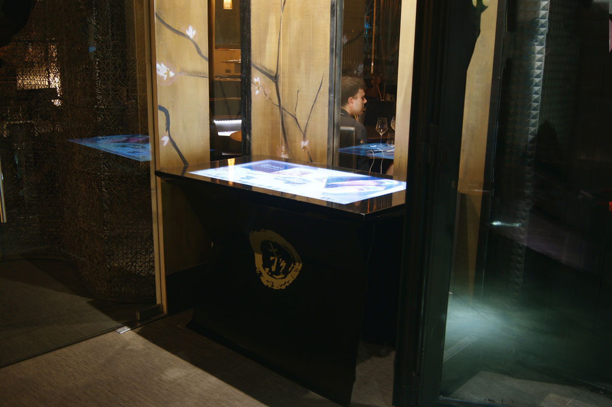 D-Table in Finger's Garden in Milan