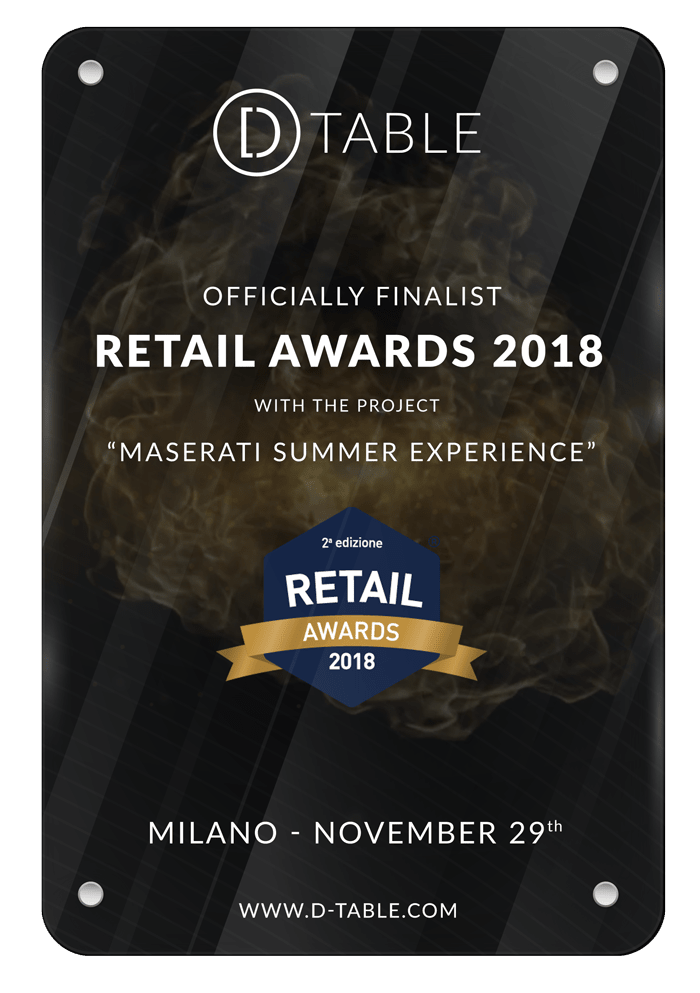 Retail Awards D-table