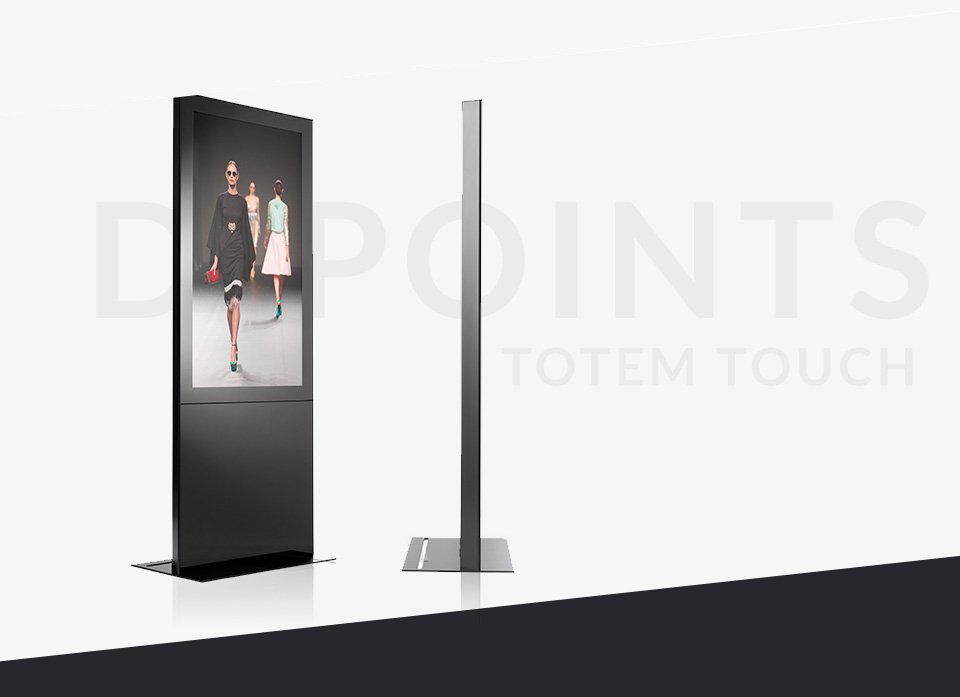totem touchscreen