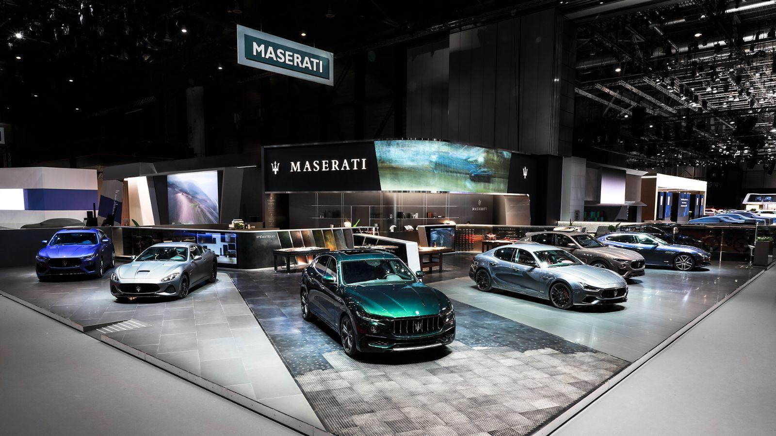 Maserati Standat Geneva Motor Show 2019