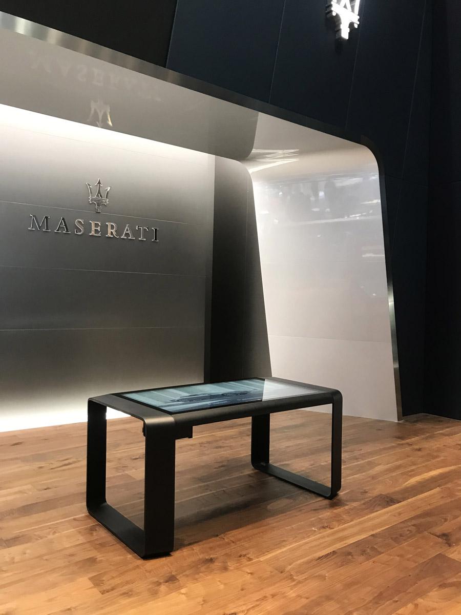 D-Table Maserati Salone Ginevra 2019