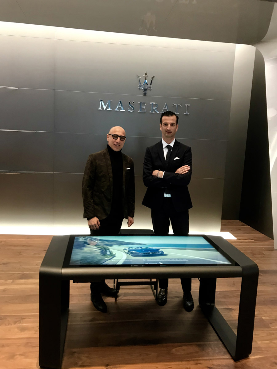 D-Table Maserati Salone Ginevra 2019