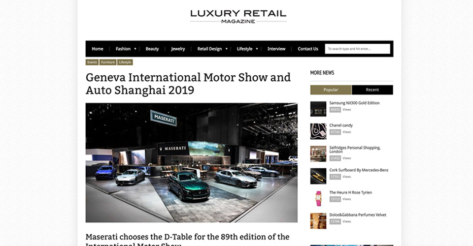 D-Table Motor Show 2019