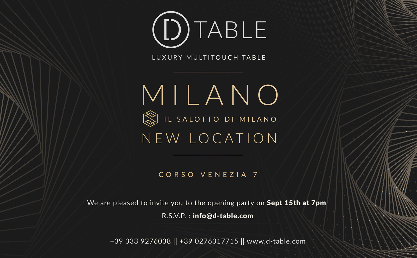 D-Table Location Milano
