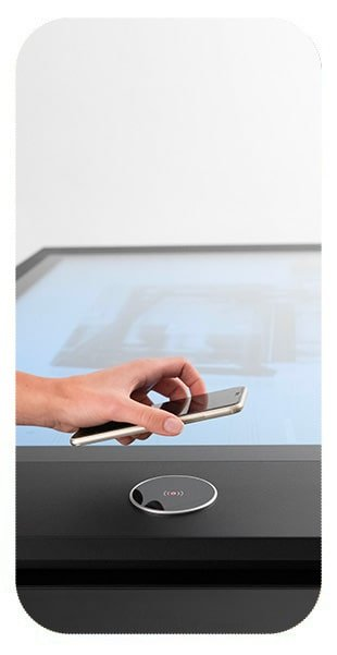 D-Easy Touch Table for business