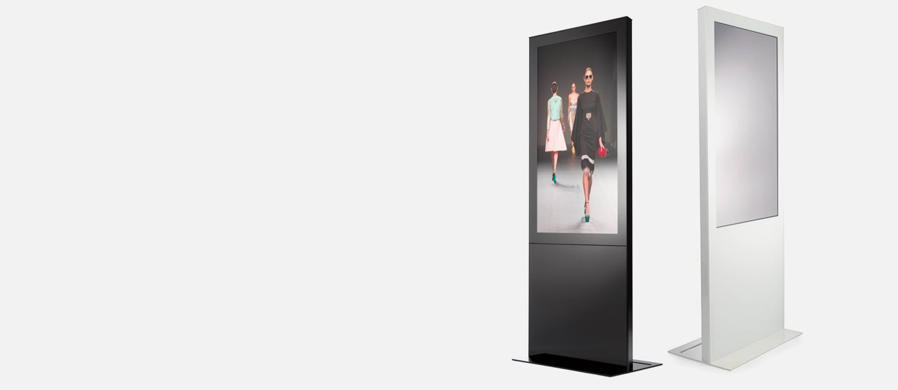 D-Point Touchscreen totem