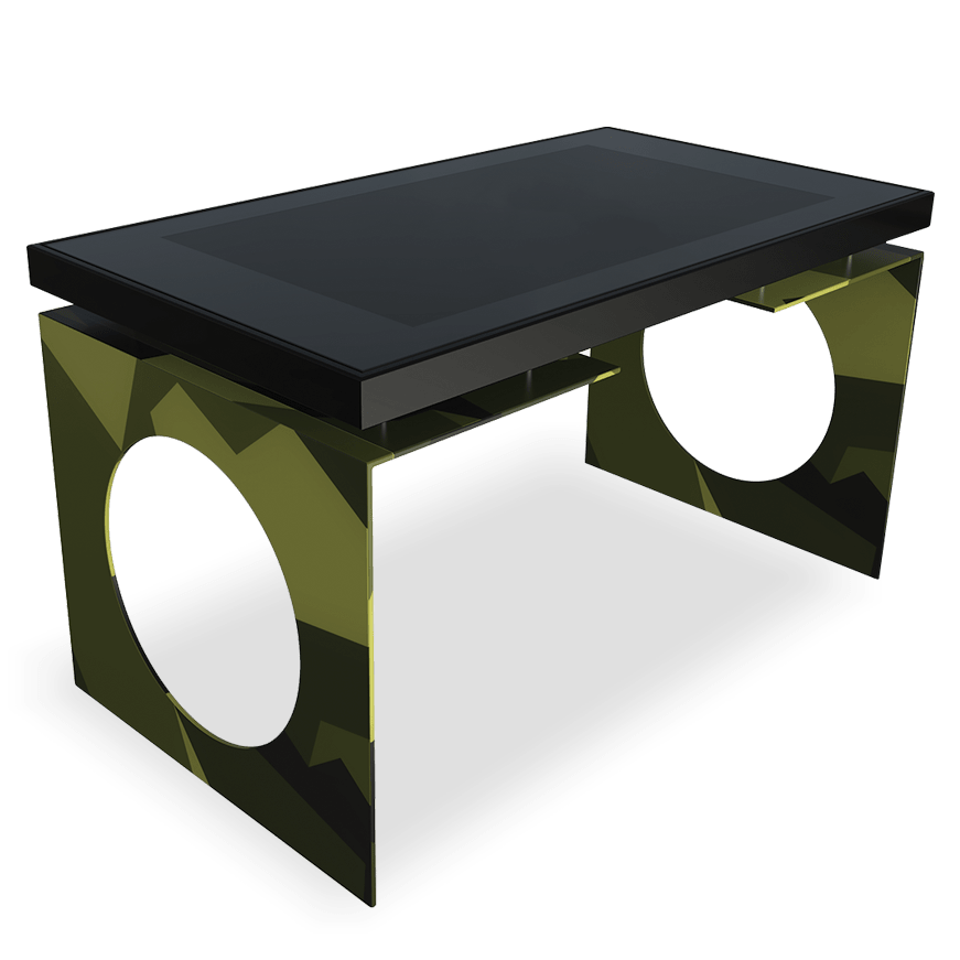 Camouflage D-Young by D-Table, Luxury Multitouch Design Table