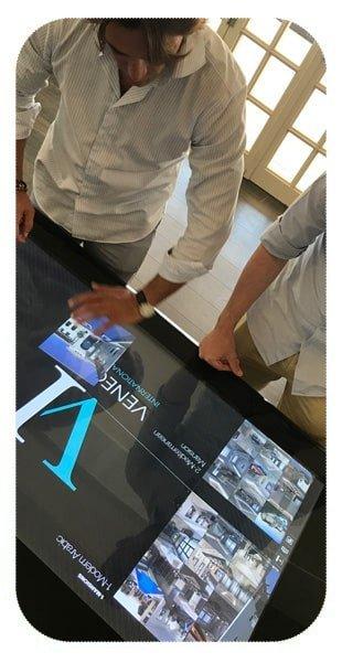 Software touchscreen