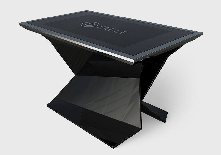 Black D-Monster, Multitouch Design Interactive Table
