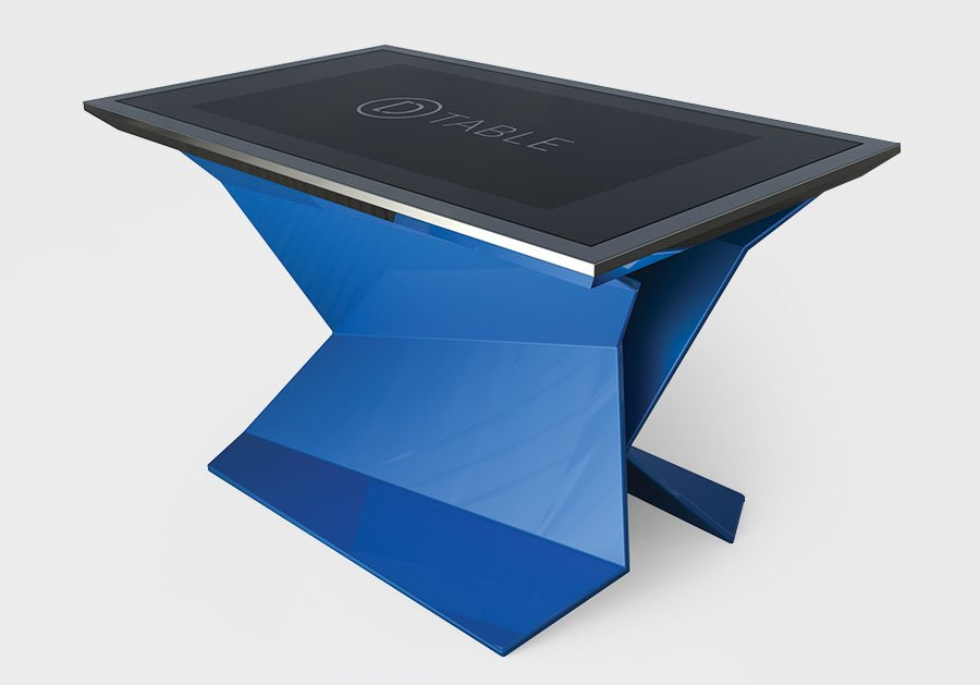Blue D-Monster, Multitouch Design Interactive Table