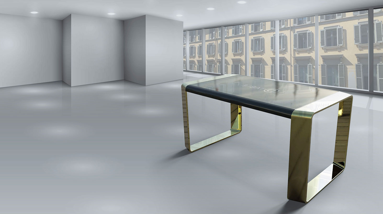 D-Table D-Square Multitouch Table