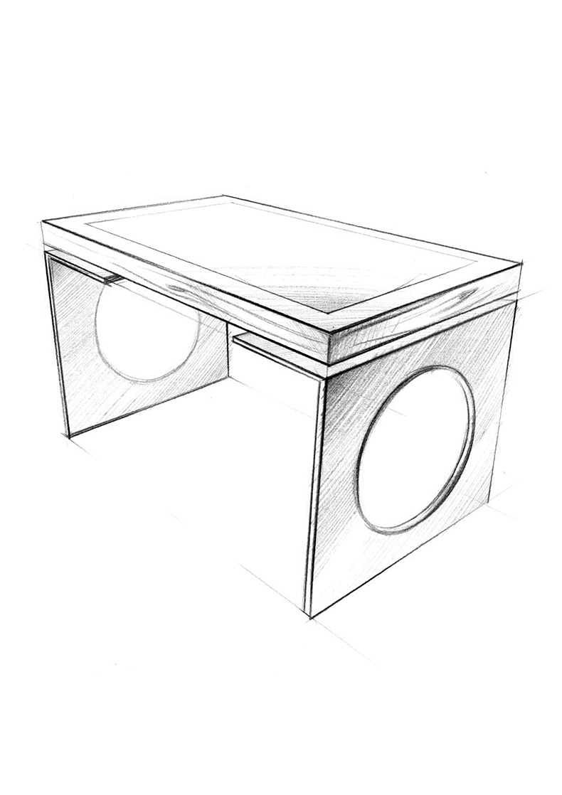 D-Young by D-Table, Luxury Multitouch Design Table