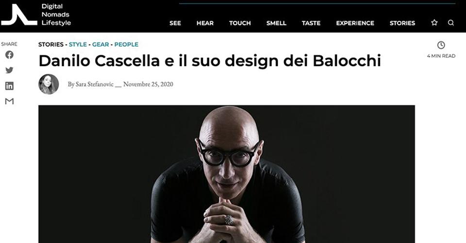 Danilo Cascella e il suo design balocchi