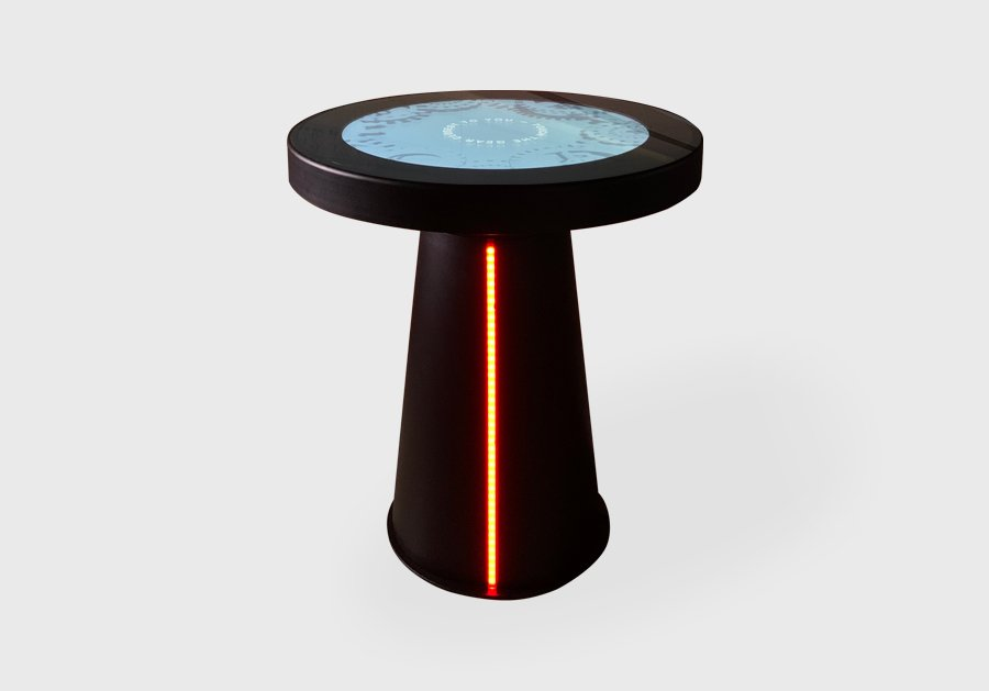 D-Circle touch table
