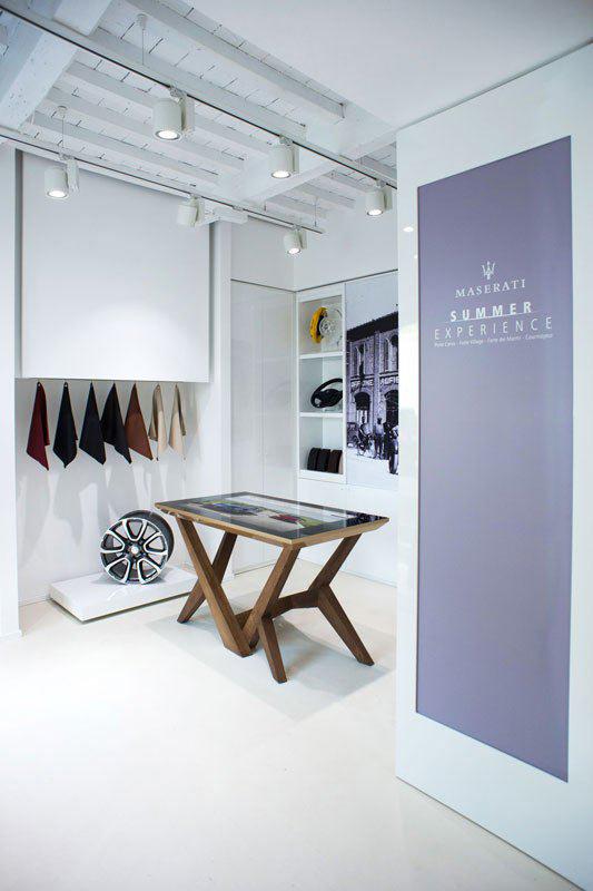 D-Cosmo, Pure and Elegant Design at Maserati Store
