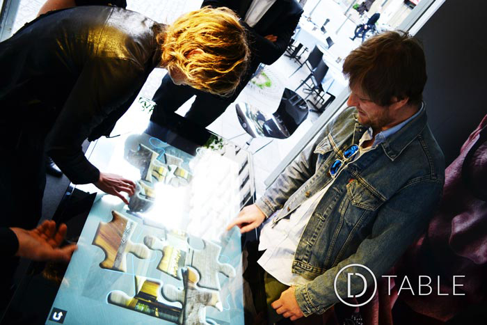 D-Table, Luxury Multitouch Table at Milano