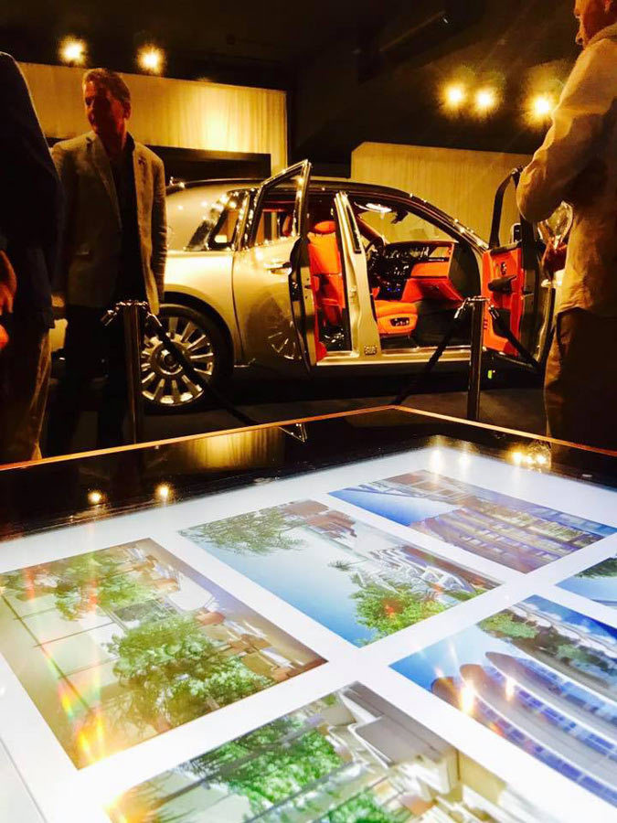 D-Young, Multitouch Luxury Design Table