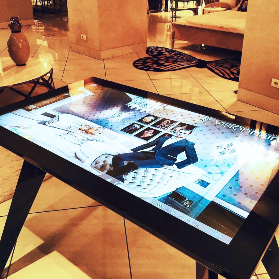 D-Zero, Multi-Touch Table.
