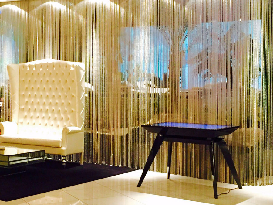 D-Zero,Multitouch Luxury Design Table