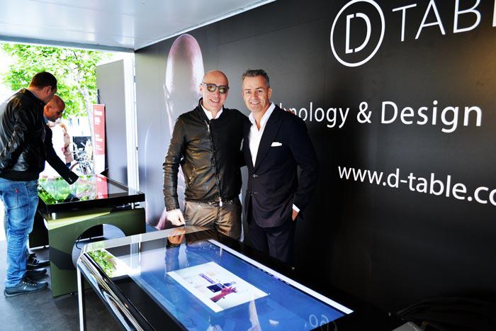Danilo Cascella with his Silver D-Square