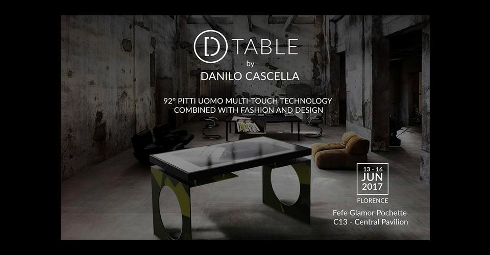 D-Table Pitti Uomo 2017